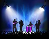 Rock konseri — Stok Vektör