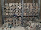 Snapshot of the wine cellar — Stock Photo