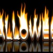 Burning halloween — Foto Stock #33638585