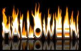 Gravure de halloween — Photo