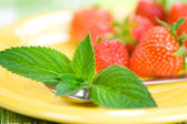 Fresh Strawberrys — Stock Photo