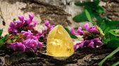 Citrine gem stone — Stock Photo