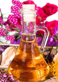 Essential oil or bath oil — Stock Photo