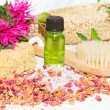 Stock Photo: Aromatherapy at bath time