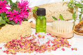 Aromatherapy at bath time — Stock Photo