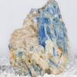 Blue kyanite blades — Stock Photo