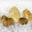 Citrine or the stone of success — Stock Photo