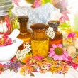 Naturopathy and aromatherapy still life — Stock Photo #30128405