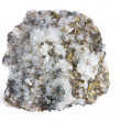 Specimen of calcite and iron pyrites — Stock Photo
