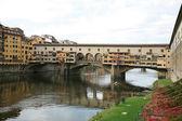 Ponte vecchio florencia — Foto de Stock