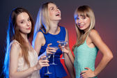 Group shot of young women — Stock Photo