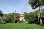 Parks of Nervi Genoa Italy — Stock Photo