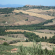 Stock Photo: Countryside, Pienza, Tuscany, Italy