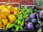 Vegetables on the market — Foto Stock