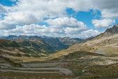 Montañas de los alpes ligures — Foto de Stock