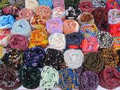 Coloured Neckerchiefs — Stock Photo