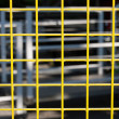 Stockfoto: Yellow lattice