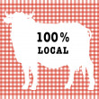 Stock Photo: Symbol of local food