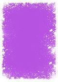 Blot fialovým pozadí s bílou barvou — Stock fotografie