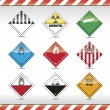 Danger symbols — Stock Vector #24812375