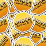 símbolos de la etiqueta engomada tráfico — Vector de stock