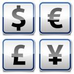 Money icon board — Stock Vector #33597185