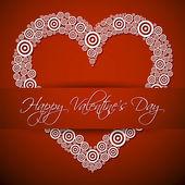 Happy Valentines's Day — Stock Vector