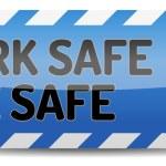 Work safe be safe — Stock Vector #39781647