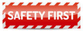 Safety first — Stock Vector