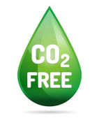 CO2 Free — Stock Vector