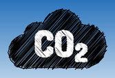 CO2 cloud pen style — Stock Vector