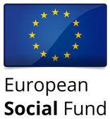 European Social Fund — Stock Vector