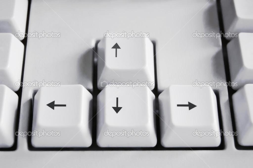 how to fix keyboard arrow keys