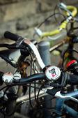 I love my bike  — Stock Photo