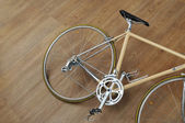 Vintage road bicycle — Stock Photo