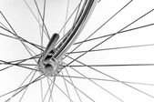 Vintage bicycles front hub — Foto Stock