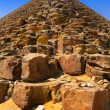 Red pyramid of King Sneferu at Dahshur, Cairo, Egypt — Stockfoto