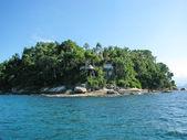 "Brasil: amazing Costa Verde (""Green Coast"") near Paraty and Rio — Stock Photo"