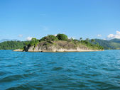 "Brasil: amazing Costa Verde (""Green Coast"") near Paraty and Rio — Stock Photo"