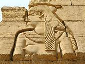Temple of Kom Ombo, Egypt: goddess Hathor — Stock Photo