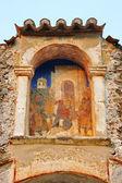 Medieval byzantine fortress of Mystras (UNESCO World heritage),  — Stock Photo