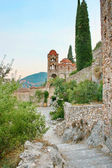Medieval byzantine fortress of Mystras (UNESCO World heritage),  — Stock Photo