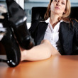 Office - lady — Stock Photo