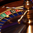 Details of gaming of roulette — Stock Photo