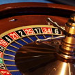 Details of gaming of roulette and poker — Stock Photo