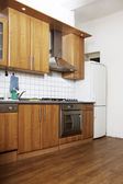 Kitchen interior — Stockfoto