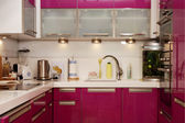 Modern kitchen interior — Foto Stock