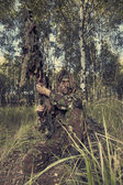 Sniper hides — Stock Photo