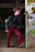 Punk people — Stock Photo