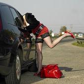 Prostitute — Stock Photo